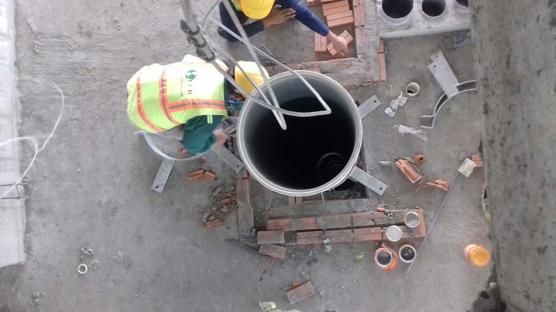Ống dẫn rác City Garden giai đoạn 2